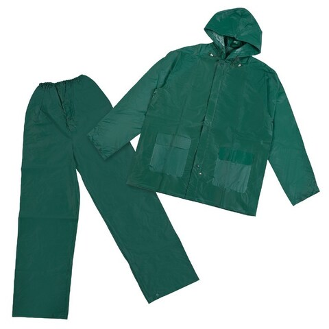 Stansport PVC Green Rainsuit