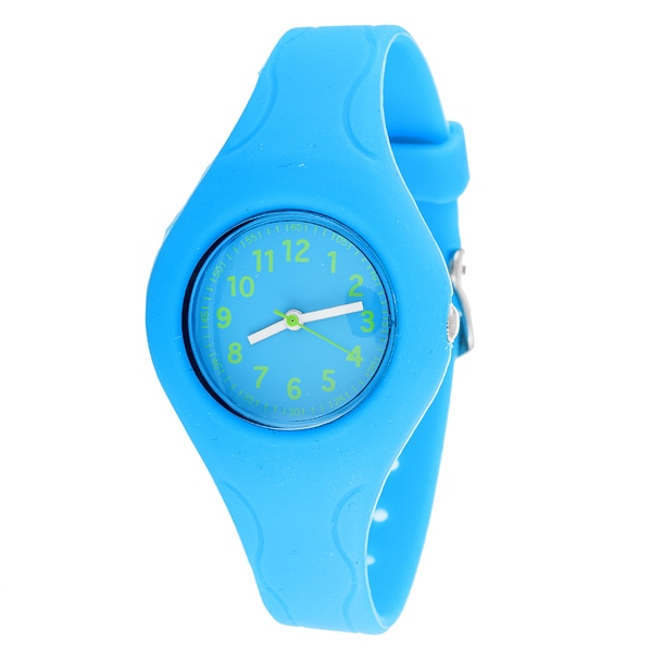 Pop Kids' Modern Blue Sport Watch