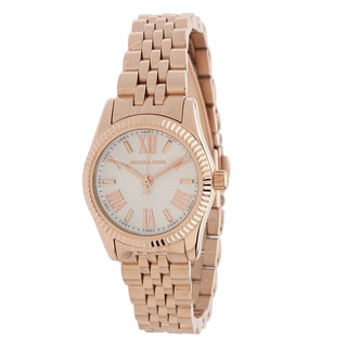 Michael Kors Women's MK3230 Lexington Rose Goldtone Watch