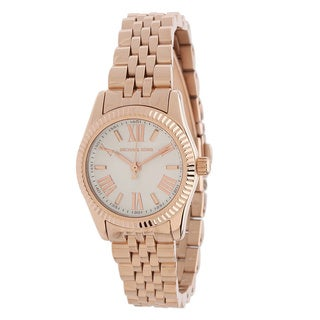 Michael Kors Women's Lexington Rose Goldtone Watch - PInk