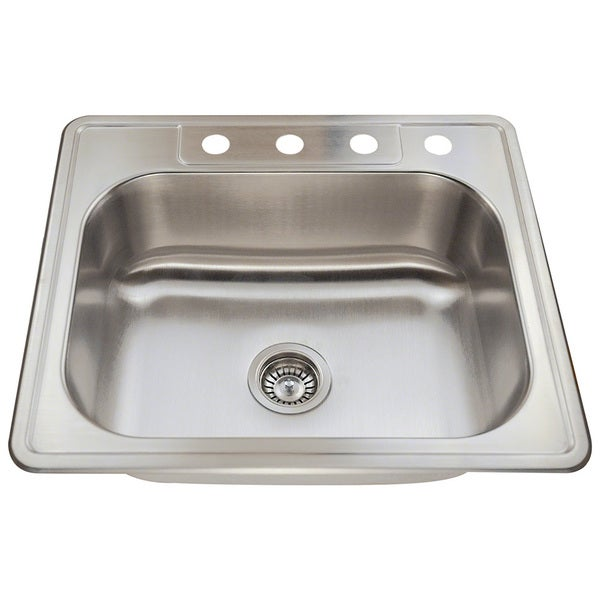Polaris Sinks P8132T Topmount Stainless Steel Sink