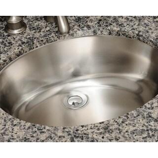 Polaris Sinks P7191 Stainless Steel Vanity Sink