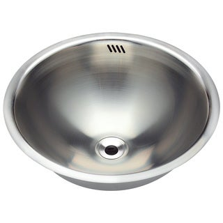 Polaris Sinks P024 Stainless Steel Bathroom Sink