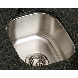 Polaris Sinks P2151 Stainless Steel Bar Sink