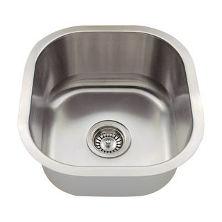 Polaris Sinks P6171-16 Stainless Steel Bar Sink