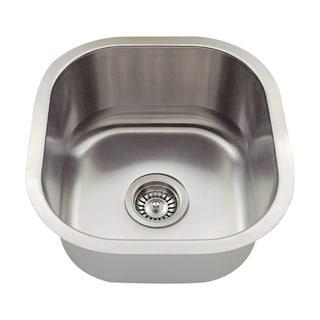 Polaris Sinks P6171-16 Stainless Steel Bar Sink