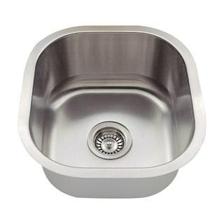 Polaris Sinks P6171-18 Stainless Steel Bar Sink