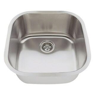 Polaris Sinks P0202-16 Stainless Steel Bar Sink
