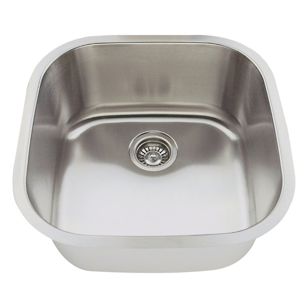 Polaris Sinks P0202-16 Stainless Steel Bar Sink