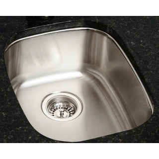 Polaris Sinks P5181-16 Stainless Steel Bar Sink