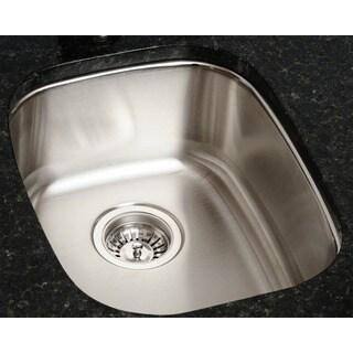 Polaris Sinks P5181-16 Stainless Steel Bar Sink