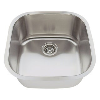 Polaris Sinks P0202-18 Stainless Steel Bar Sink