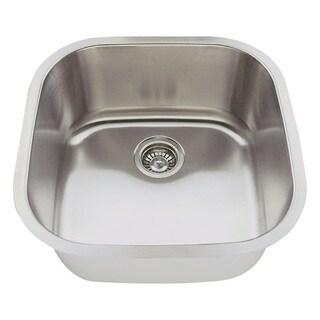 Polaris Sinks P0202-18 Stainless Steel Bar Sink