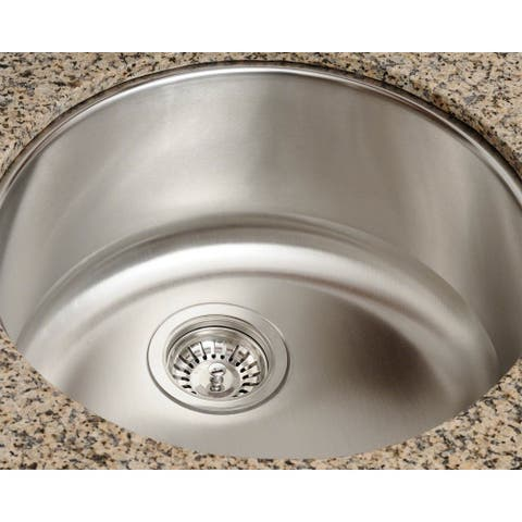 Polaris Sinks P564 Stainless Steel Bar Sink