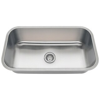 Polaris Sinks PC8123 Single Bowl Stainless Steel Sink