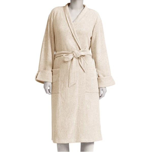 Premier Comfort Women  x27 s Rayon Blend Spa Terry Robe or Matching Lounge  Pant 1594b0b28