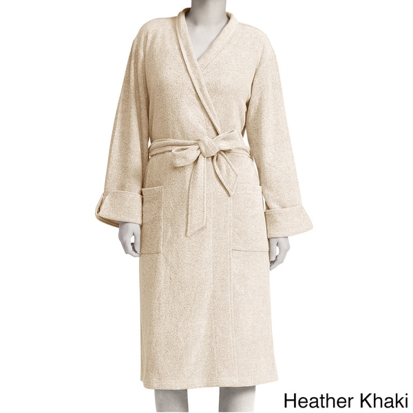 Premier Comfort Women's Rayon Blend Spa Terry Robe or Matching Lounge Pant