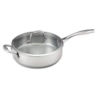 Guy Fieri 5-quart Stainless Steel Deep Saute Pan