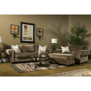 Fairmont Designs Made To Order Eliot Brown 3-piece Sofa Set