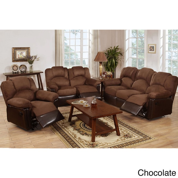 Shop Arles 3 Pieces Motion Recliner Living Room Set