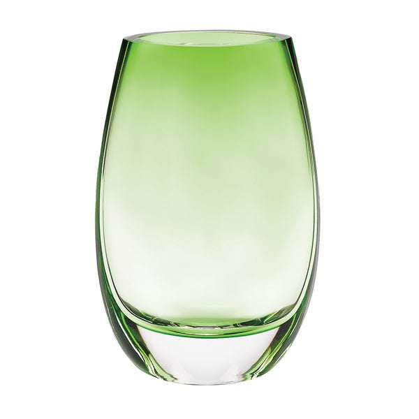 Crescendo spring green 8 inch vase free shipping today for Jardin glass vases 7 in