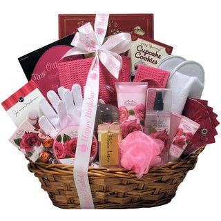 Shop Great Arrivals Rose Haven Birthday Bath And Body Gift