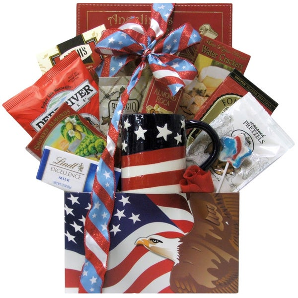 Great Arrivals Enduring Freedom Welcome Home Solider Gift Basket