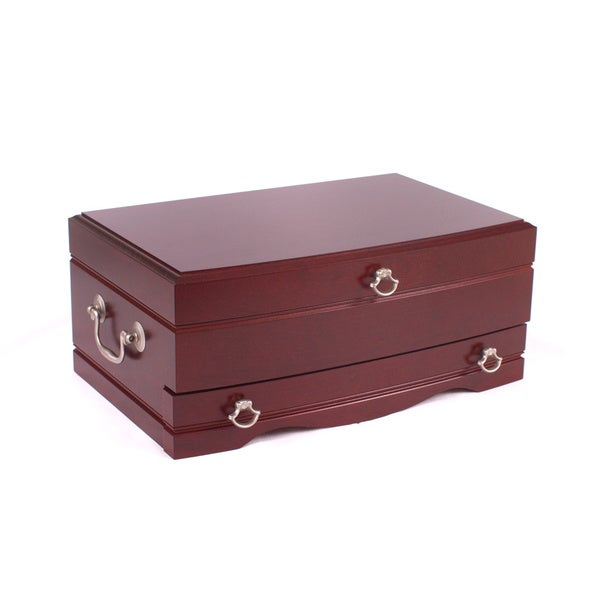 American Chest Solid Wood Elegance Jewelry Chest