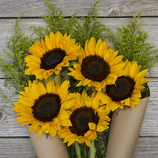 The Bouqs California Collection 'Hello Sunshine' Original Flower Bouquet