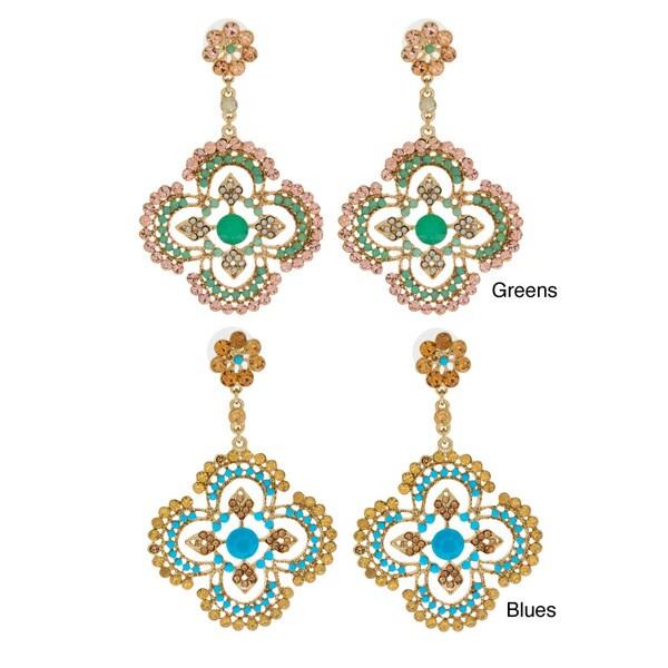 NEXTE Jewelry Wattape Native Filigree Dangle Earrings