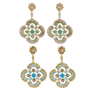 NEXTE Jewelry Wattape Native Filigree Dangle Earrings