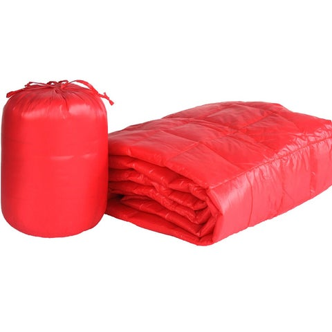 Travelwarm Nylon Indoor/Outdoor Packable Throw with Travel Bag