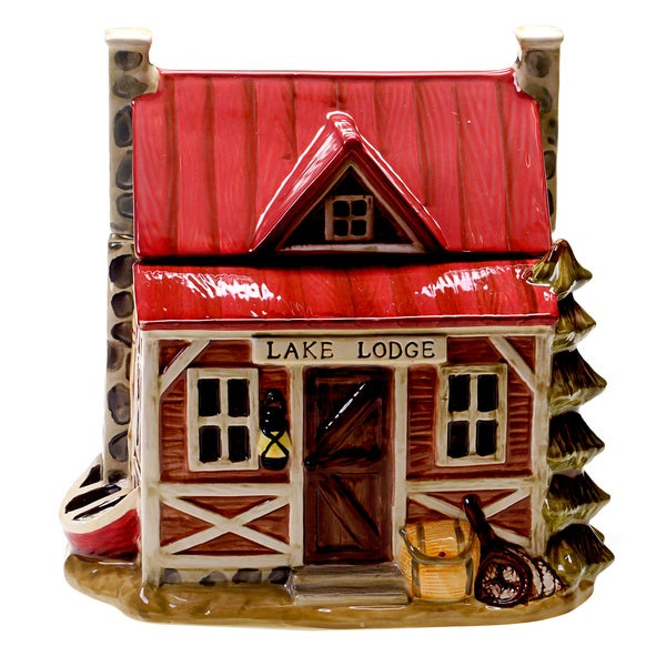Lakeside Lodge 10-inch 3D Cookie Jar