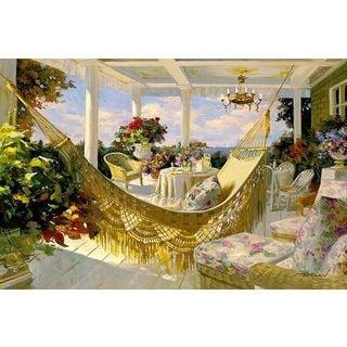 Benjamin 'Porches and Patios' Canvas Art