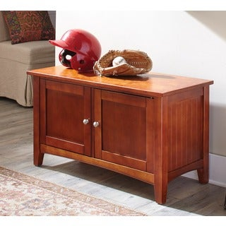 Fair Haven Two-door Storage Bench