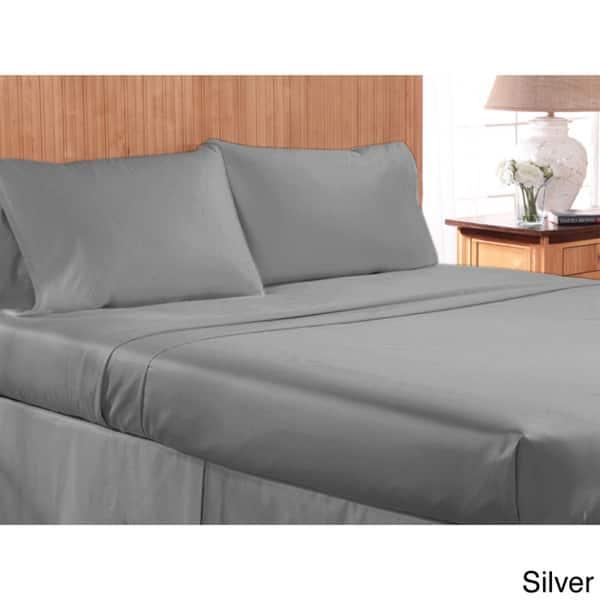 Super Quality 4 PCs Sheet Set 1000 TC Egyptian Cotton Multi Colors All US Size