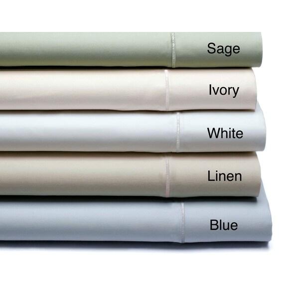 1000 Thread Count Cotton Blend 6-piece Solid Sheet Set