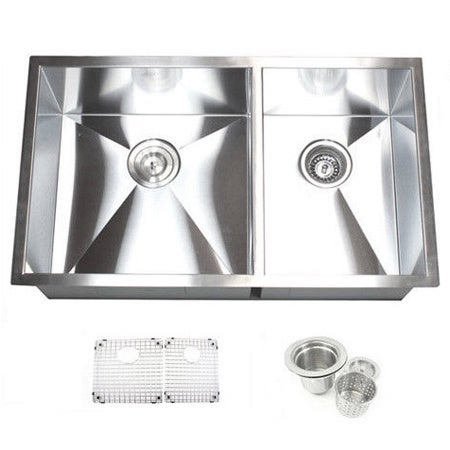 Kitchen Sink Basket 32 inch double bowl 6040 undermount zero radius kitchen sink basket 32 inch double bowl 6040 undermount zero radius kitchen sink basket strainer grid accessories free shipping today overstock 16248366 workwithnaturefo