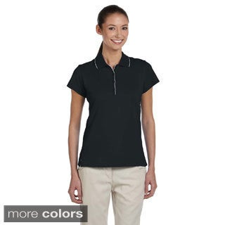 Adidas Women's ClimaLite Tour Jersey Short Sleeve Polo