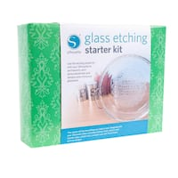 Silhouette GLASS Glass Etching Starter Kit