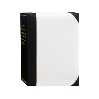 Pioneer Photo Albums 100-pocket Leatherette Cover Ledger Style Album (Pack of 2)