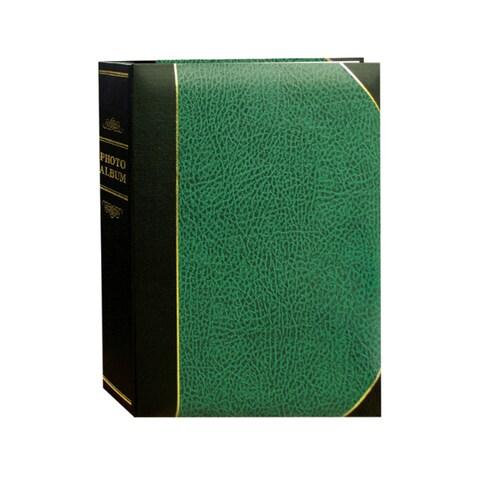 Pioneer Photo Albums 100-pocket Leatherette Cover Ledger Style Album (Set of 2)
