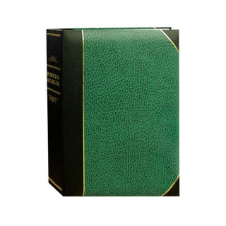 Pioneer Photo Albums 100-pocket Leatherette Cover Ledger Style Album (Set of 2) https://ak1.ostkcdn.com/images/products/9052494/P16248443.jpg?impolicy=medium