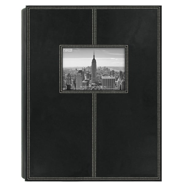 Shop Pioneer Photo Albums 300 Pocket Black Sewn Leatherette Frame