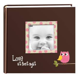 Pioneer Photo Albums 200-pocket Baby Owl Cover Photo Album (Set of 2)|https://ak1.ostkcdn.com/images/products/9052505/P16248446.jpg?impolicy=medium