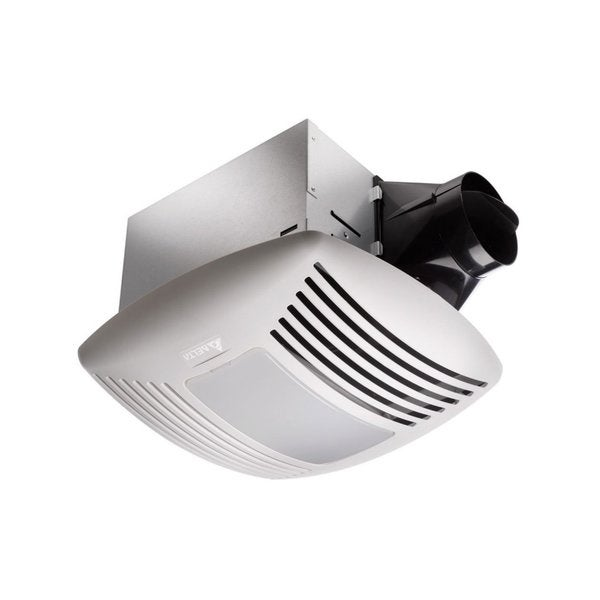 bathroom exhaust fan with light and nightlight shop delta electronics light and adjustable humidity 25919