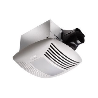 Delta Electronics Night Light And Adjustable Humidity Sensor BreezSignature Bathroom  Fan With Light