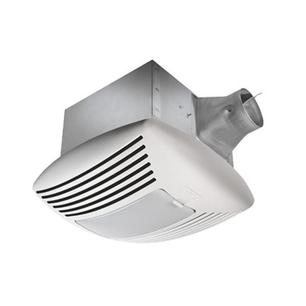 bathroom fans with light reviews shop delta breez sig80l 80 cfm ceiling bath fan with light 22091