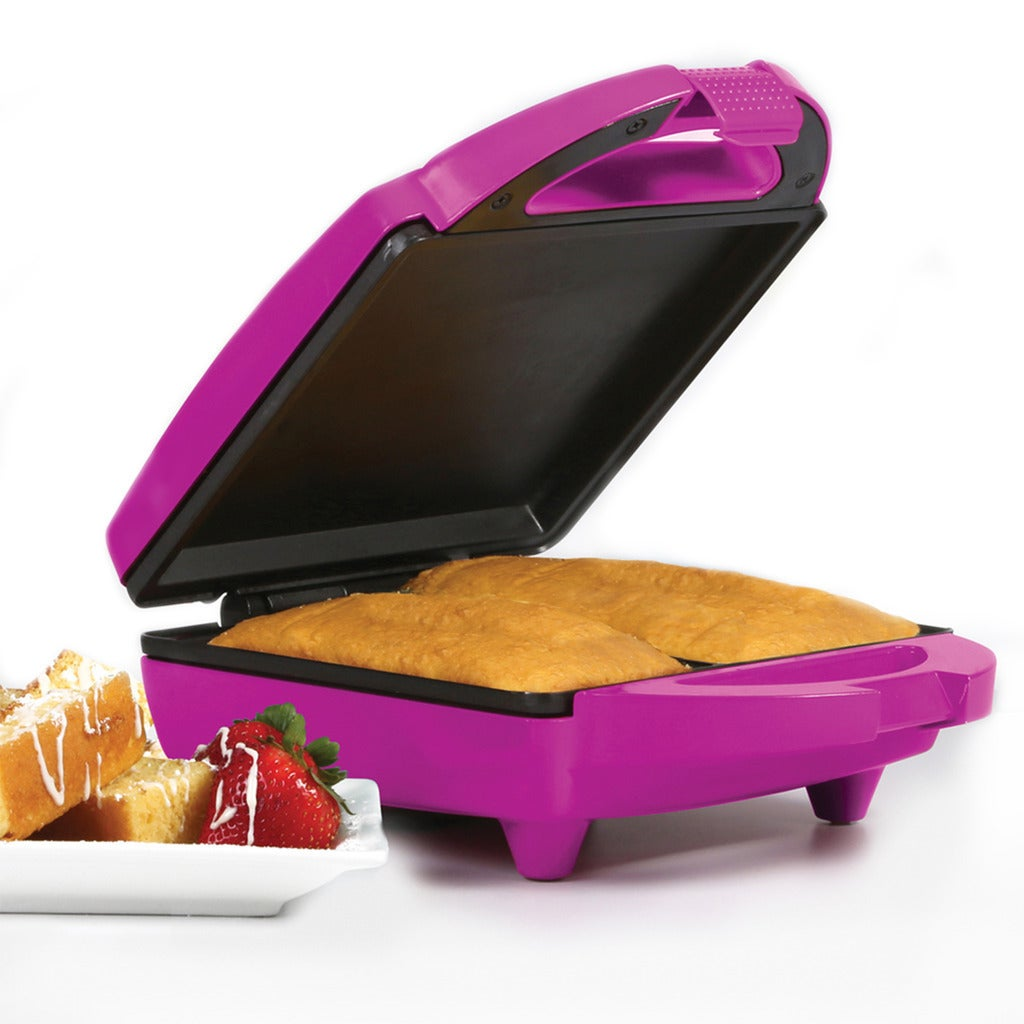 Holstein Housewares Pound Cake Maker (Magenta), Pink