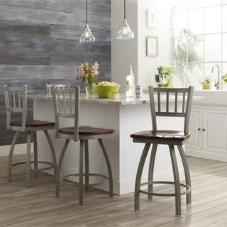 Steel Frame/ Oak Wood Counter Stool|https://ak1.ostkcdn.com/images/products/9052671/P16248583.jpg?impolicy=medium